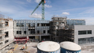 Construction on the new Radiation Oncology Centre, at the CUH Campus,  Wilton, Cork
